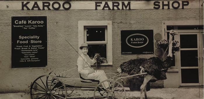 Karoo Farm Shop front door