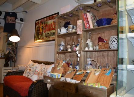 Inside the shop Karoo